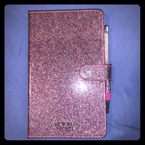 Victoria's Secret journal and pen